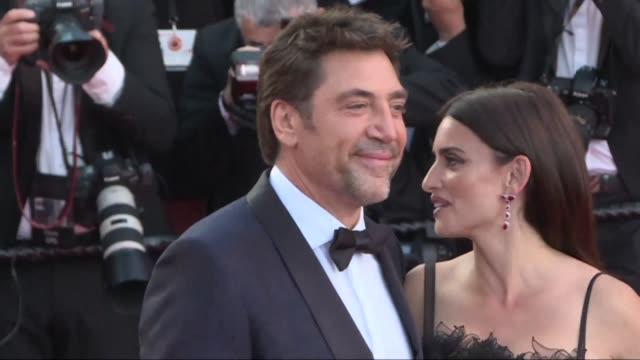 the golden couple of spanish cinema javier bardem and penelope cruz open this year's cannes film festival together - 71st international cannes film festival stock videos & royalty-free footage
