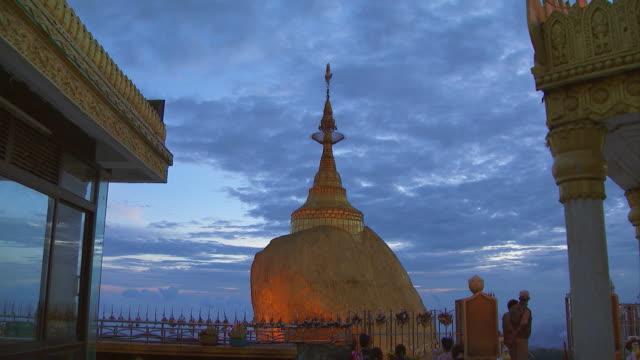 DS of the Golden Rock or Kyaiktiyo Pagoda