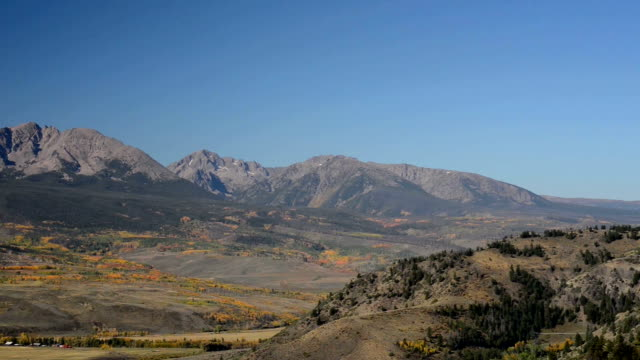 the gore range of the colorado rocky mountains - gore range stock videos and b-roll footage