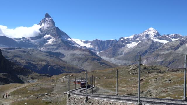 The Gornergrat train in the Matterhorn region