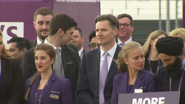 the government cleared the multibillion pound expansion of heathrow for takeoff today but will do it with a reduced majority in parliament after the... - millstone stock videos & royalty-free footage