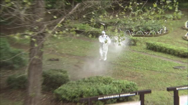 The government is spraying chemicals to kill the mosquitoes and drained water in a pond in the park to prevent mosquitoes from breeding More than a...