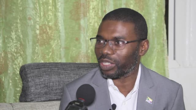 The Governor of Anjouan Island an island in the archipelago of Comoros reacts to the YES referendum result which grants the current president a...