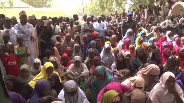 The governor of Nigeria's Yobe State spoke to parents of scores of schoolgirls who locals say have been kidnapped by Boko Haram jihadists claiming...