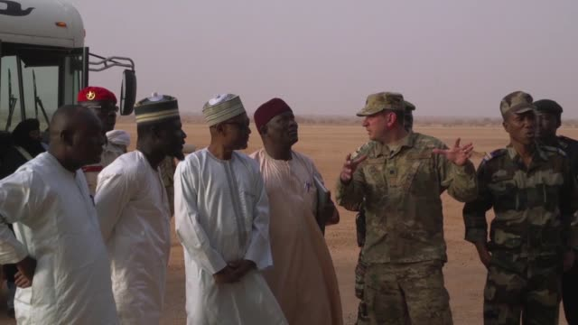The Governor of the Agadez region in Niger visited Nigerian Air Base 201 for the first time since it's initial construction in 2016