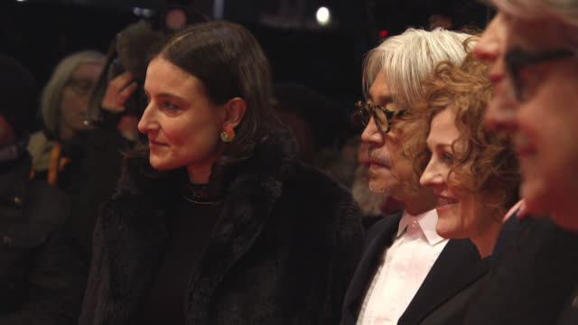 The Grand Jury Tom Tykwer Cécile de France Chema Prado Adele Romanski Ryūichi Sakamoto Stephanie Zacharek at 68th Berlin Film Festival Isle of Dogs...