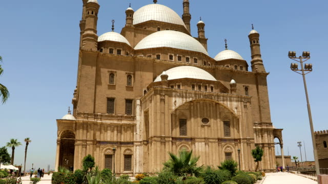The Great Mosque of Muhammad Ali Pasha in the Citadel of Cairo in Egypt