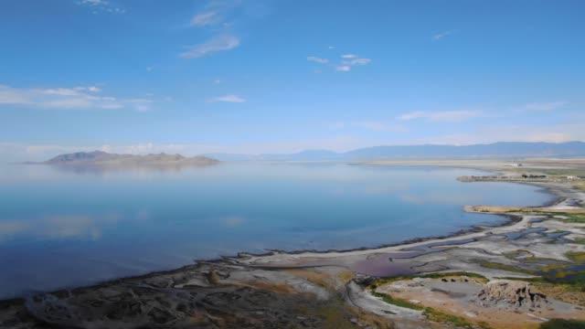 vidéos et rushes de le grand lac salé - utah