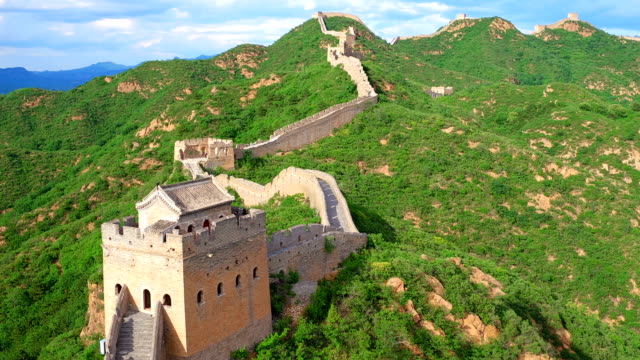 万里の長城の空中写真
