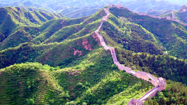 The Great Wall Aerial photography