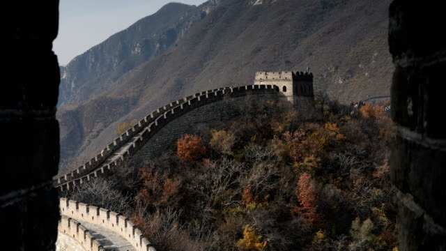 the great wall of china - great wall of china stock videos & royalty-free footage