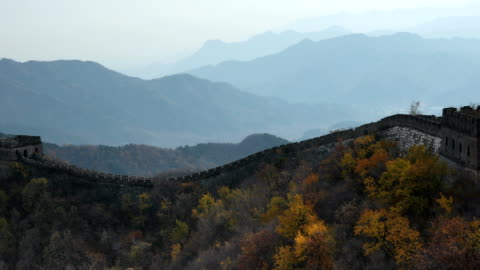 the great wall of china - mutianyu stock videos & royalty-free footage