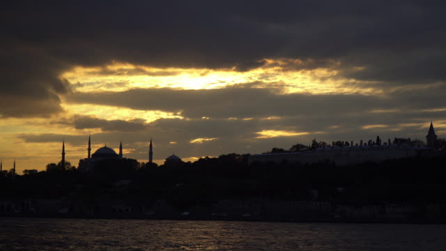 The Hagia Sophia and The Topkapi Palace as Cinemagraph