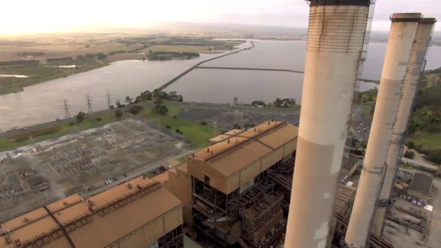 the hazelwood power station in the latrobe valley, victoria. - david ewing stock videos & royalty-free footage
