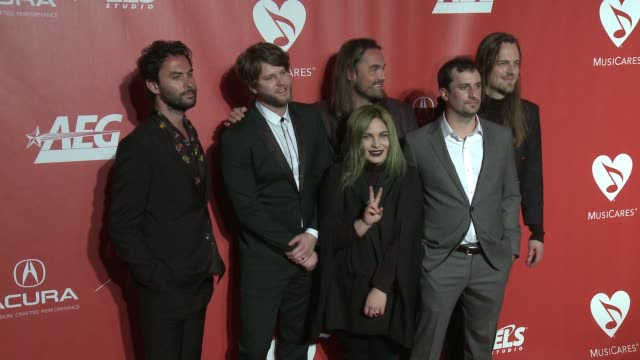 The Head and the Heart at MusiCares Person of the Year Honoring Tom Petty in Los Angeles CA