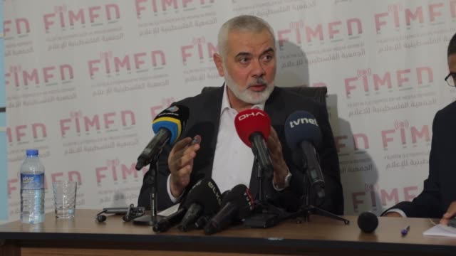 the head of hamas resistance group ismail haniyeh said on thursday, aug. 27, that turkish president recep tayyip erdogan has always pushed for... - egypt stock videos & royalty-free footage