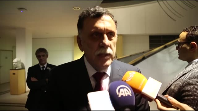 the head of libya's un-recognized government of national accord met european parliament's president on wednesday to discuss the ongoing situation in... - removing stock videos & royalty-free footage