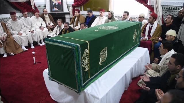 the head of one of morocco's biggest sufi orders with tens of thousands of followers at home and abroad died wednesday aged 95 - sufism stock videos & royalty-free footage