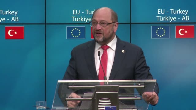 The head of the European parliament Martin Schulz says the question of Turkish accession to the European Union should be kept separate from the...