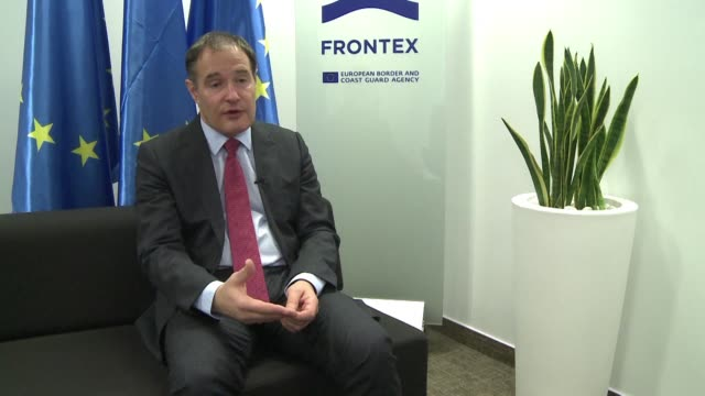 The head of the EU's border agency Frontex Fabrice Leggeri confirms that irregular migratory pressure has declined notably via Libya but that at the...