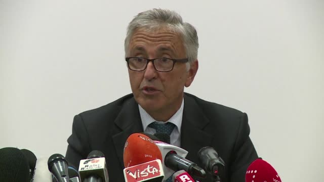the head of the italian infrastructure giant under fire over the deadly bridge collapse in genoa announces that 500 million euros will be made... - viaduct stock videos & royalty-free footage