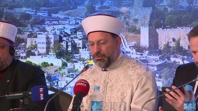 The head of Turkish Religious Affairs Ali Erbas said Monday the Palestine and Jerusalem issue could be solved through the united efforts of the...