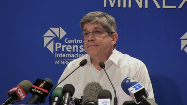 The Head of US affairs at the Cuban Foreign Ministry Carlos Fernandez de Cossio rejects the new trade restrictions announced by the Trump...