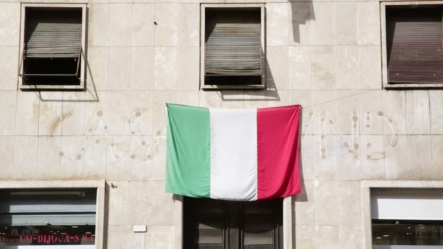 ITA: Casapound Headquarters In Roma