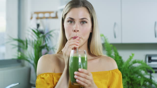 the healthiest drink around - detox stock videos & royalty-free footage