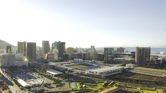 ケープタウンの中心部 - 南アフリカ共和国点の映像素材/bロール