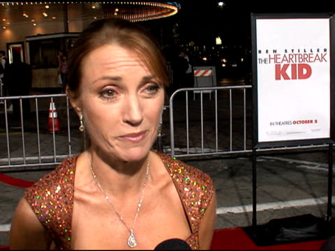 'The Heartbreak Kid' Premiere at Mann's Village Theatre Los Angeles CA 9/27/07 in Hollywood California on September 28 2007