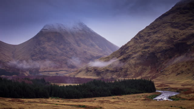The Herdsmen of Etive, Scottish Highlands - Time Lapse