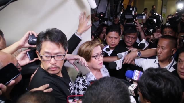 the highest profile critic of philippine president rodrigo duterte's brutal drug war is arrested on charges supporters said were meant to silence her... - critic stock videos & royalty-free footage