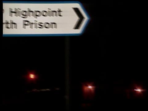 ext high point prison / ext west suffolk hosp - high point video stock e b–roll
