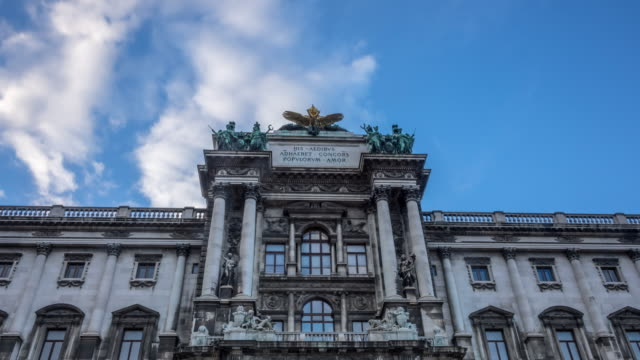 the hofburg complex, vienna - the hofburg complex stock videos & royalty-free footage