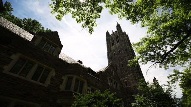 The 'Holder Memorial Tower' on the campus of Princeton University