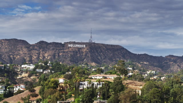 The Hollywood Sign - Drone Shot