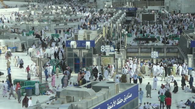 the holy kaaba, mecca saudi arabia. - hajj stock videos & royalty-free footage
