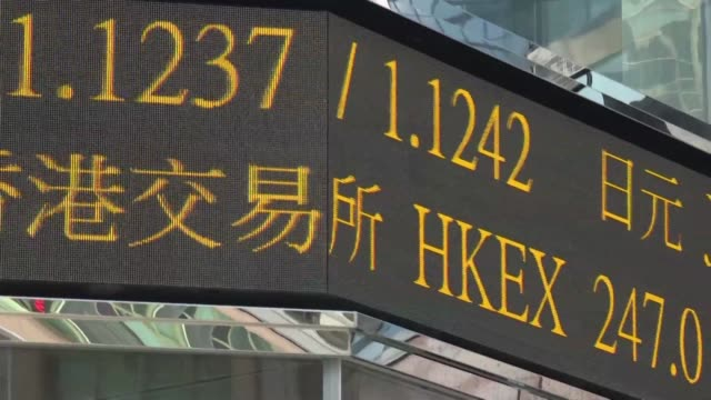 the hong kong stock exchange announces it has bid nearly £32 billion including debt for its london rival - debt stock videos & royalty-free footage