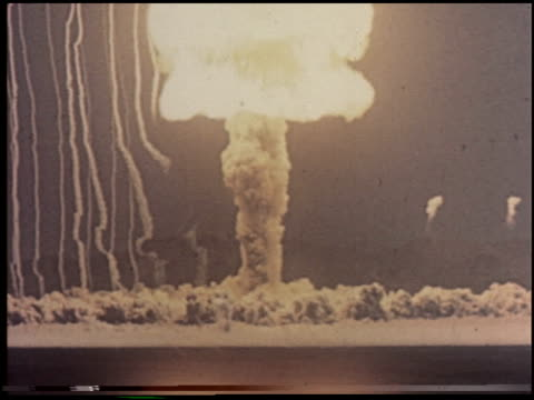 the house in the middle - 1 of 12 - atomic bomb testing stock videos & royalty-free footage