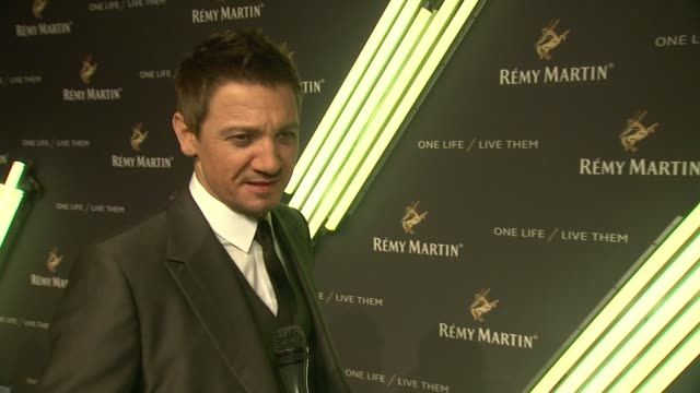 CLEAN The House Of Remy Martin One Life Live Them Launch Event With Jeremy Renner at ArtBeam on October 20 2015 in New York City