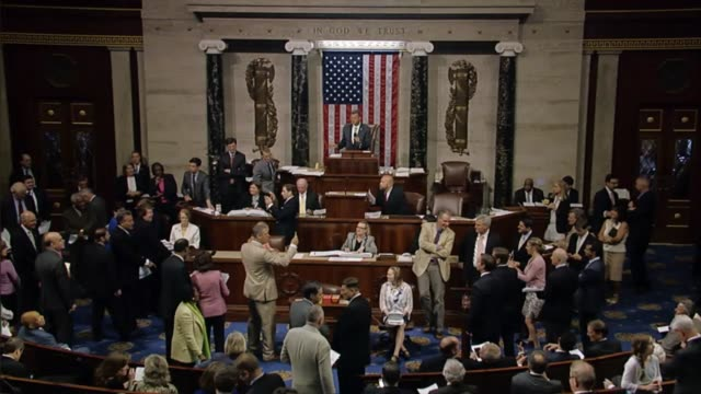 The House of Representatives votes on a final amendment to the interiorenvironment spending bill The Committee of the Whole rises the House Reading...