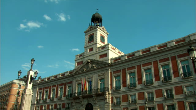 WS PAN The House of the Post office, Puerta del Sol, Madrid, Spain