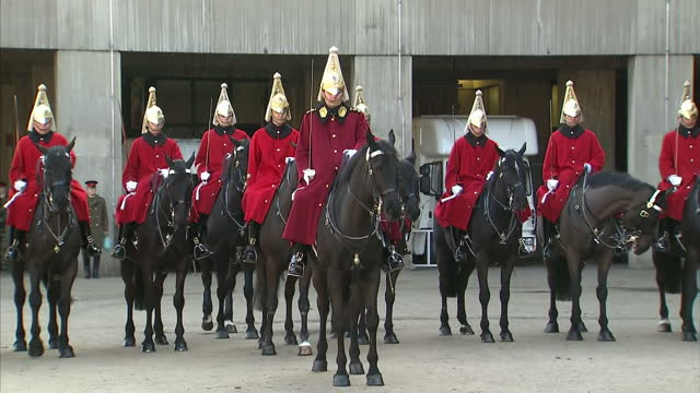 The Household Cavalry Mounted Regiment opened the doors of its Hyde Park Barracks today revealing details of the meticulous planning needed for its...