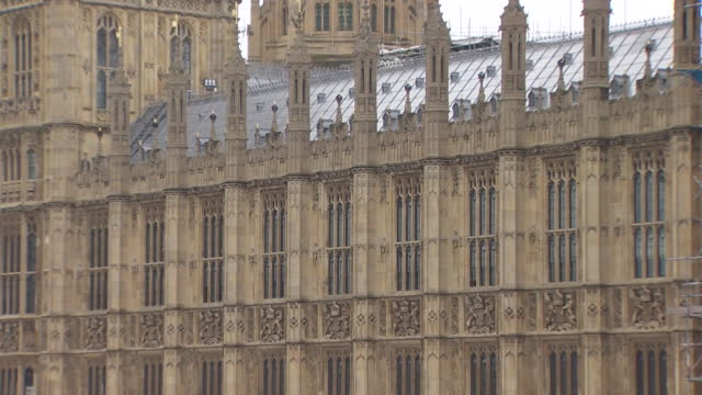 the houses of parliament - clock tower stock videos & royalty-free footage
