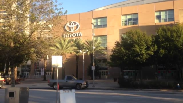the houston rockets fired head coach kevin mchale today after a poor start to the season broll footage of the toyota center in houston tx - toyota sports center stock videos and b-roll footage