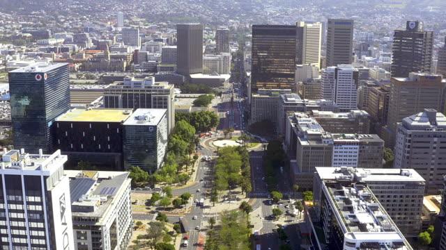 経済成長の拠点 - 南アフリカ共和国点の映像素材/bロール