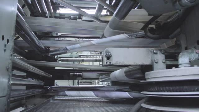 the huge printing machine - ジャーナリズム点の映像素材/bロール