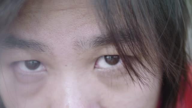 Das menschliche Auge Nahaufnahme.