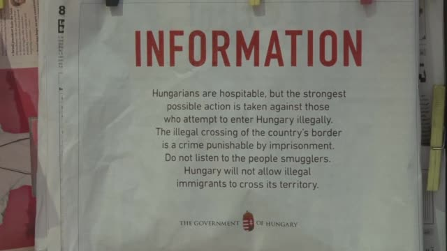 vídeos de stock, filmes e b-roll de the hungarian government placed advertisements in the lebanese press on monday warning of the strongest possible action against anyone attempting to... - cultura do leste europeu